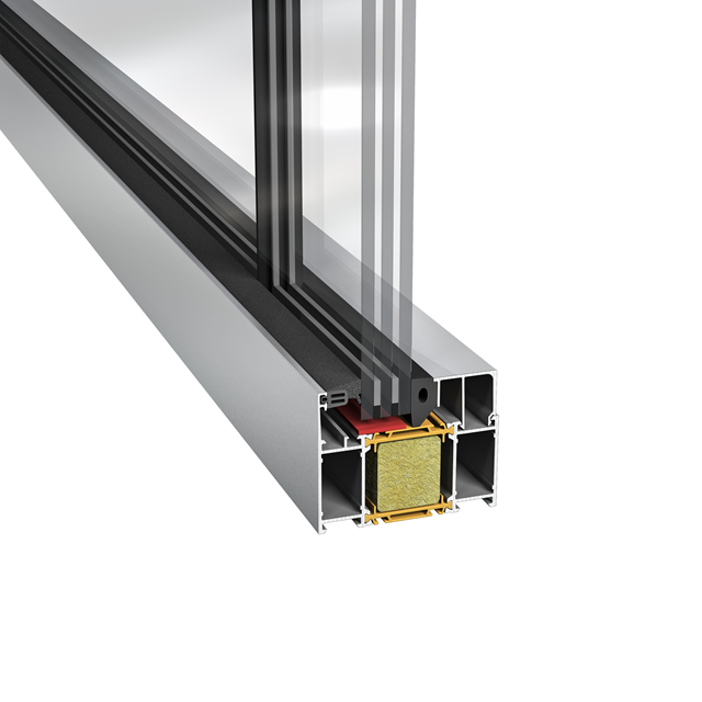 Sapa Glasparti 3086 Butt joint glass solutions (EI 30)