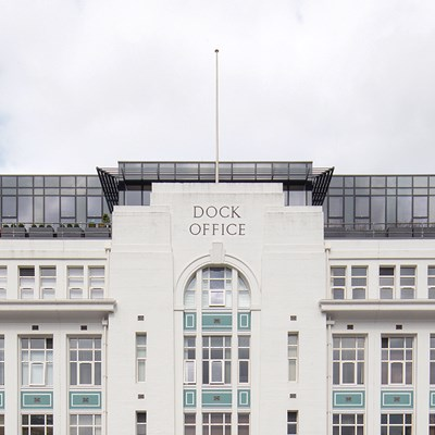 dock office salford uk case study