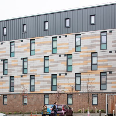the shield, stoddart street, newcastle, student living case study